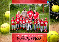 Monicals Pizza Coed T-Ball - Linton 2016