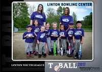Linton Bowling Center CoEd TBall | 2017