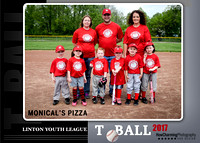 Monical's Pizza CoEd TBall | 2017