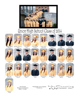 11x14 - Union High School Class of 2013 Composite