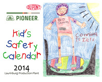 DuPont Pioneer-Laurinburg | 2014 Safety Calendar