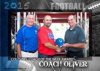 Colts/NFL Coach of the Week Award Presentation