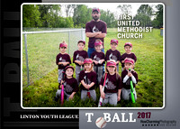 First United Methodist TBall | 2017